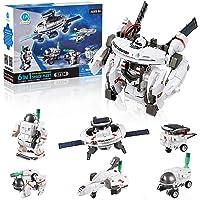 CIRO Space Shuttle Toys 7 in 1 STEM Solar Robot Building Blocks