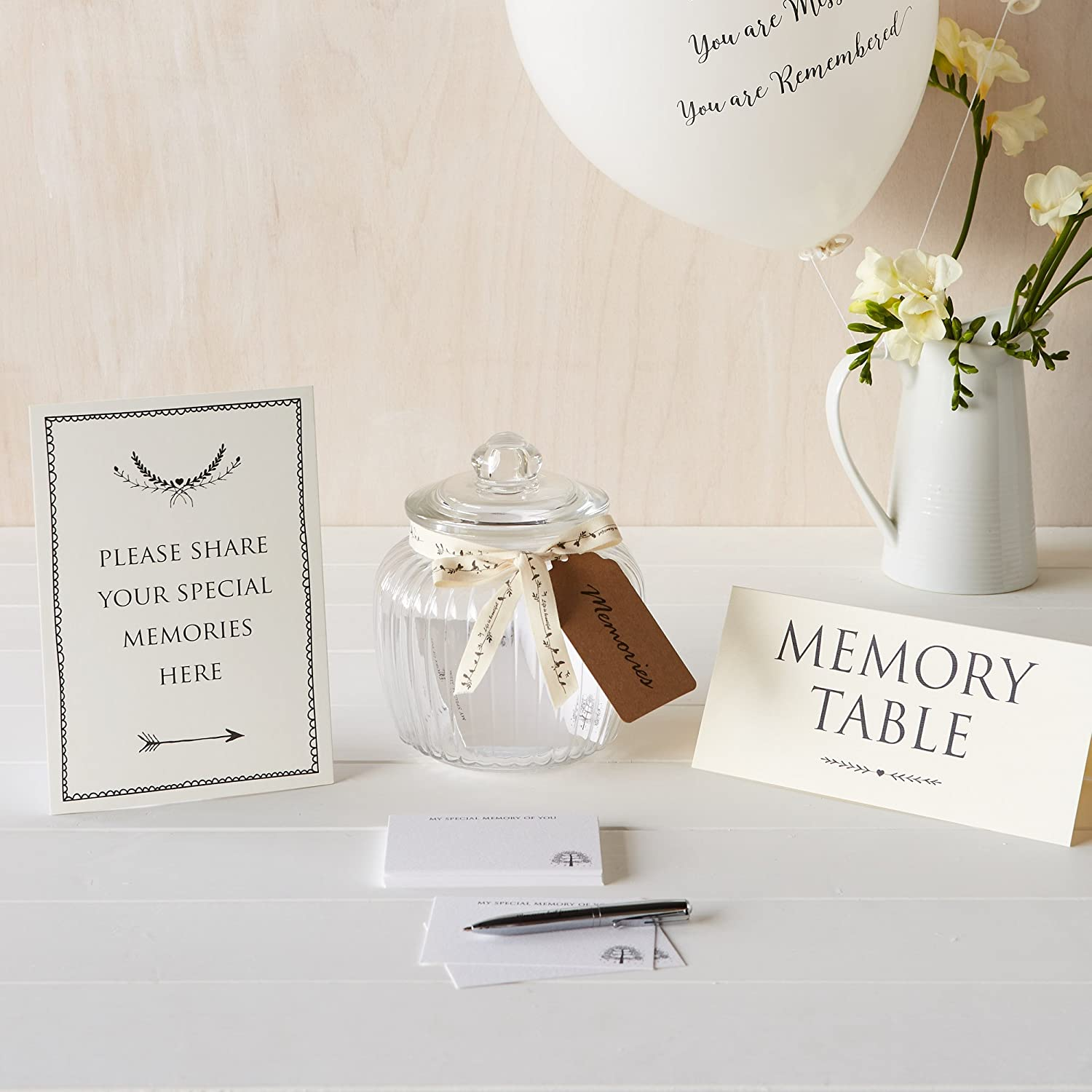 Angel Dove Funeral Memory Jar Collection Contents Amazon Co Uk Electronics