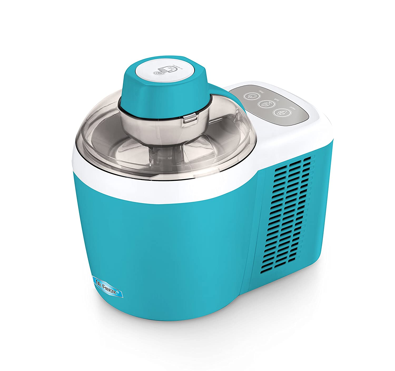 Mr. Freeze EIM-700T Self-Freezing Self-Refrigerating Ice Cream Maker, 1.5 Pint, Turquoise