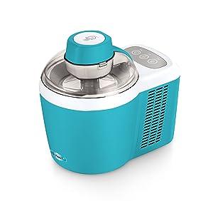 Mr. Freeze EIM-700T Self-Freezing Self-Refrigerating Ice Cream Maker, 1.5 Pint, Turquoise