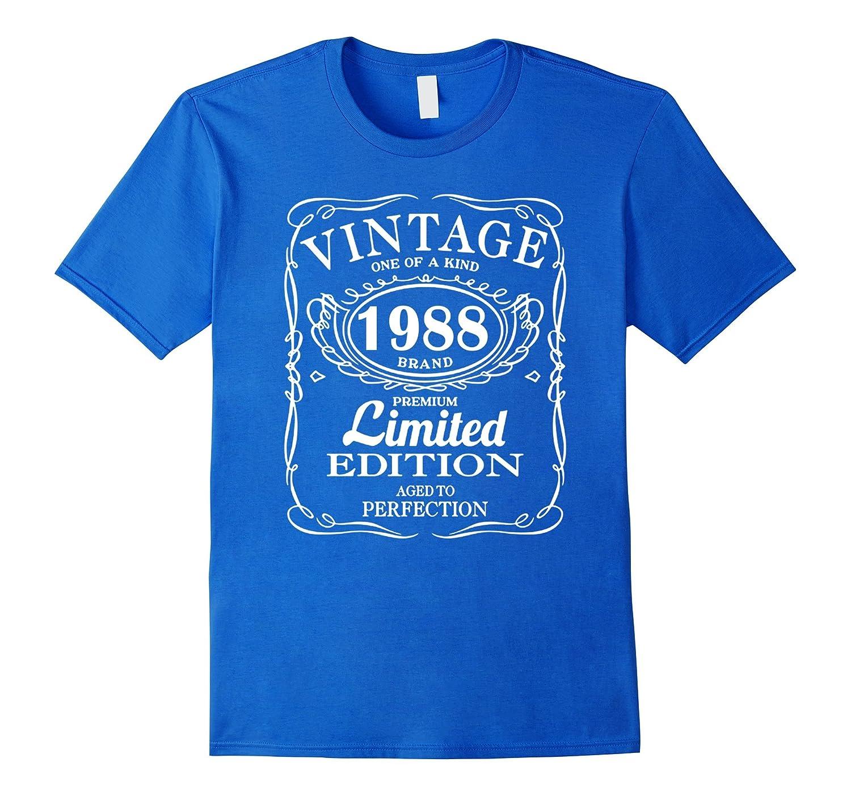 Born in 1988 Tshirt 29th Birthday 29 Years Gift-RT