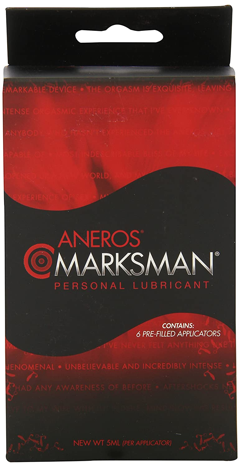 Aneros Marksman Lubricant With Applicators Amazon Health