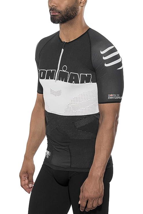 S Pantaloncini Ciclismo Compressport TR3 Ironman Brutal Uomo Small