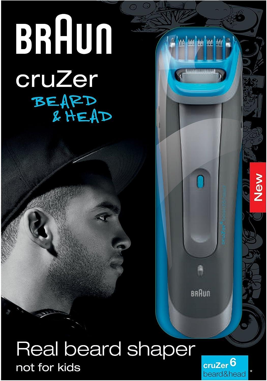 Braun Cruzer 6 Beard&Head - Cortapelos: Amazon.es: Salud y cuidado ...