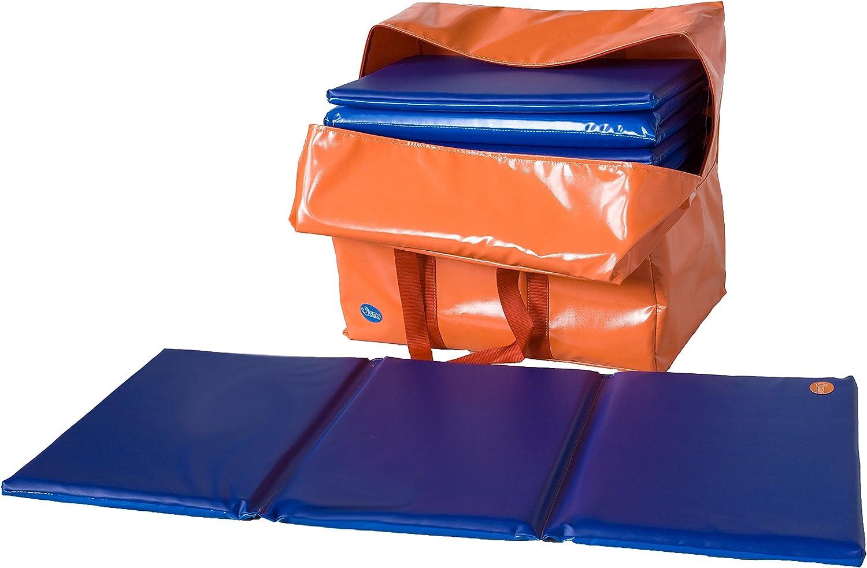 Sumo Didactic - Colchoneta Siesta Plegable, con Bolsa, 6 Unidades (093A): Amazon.es: Juguetes y juegos