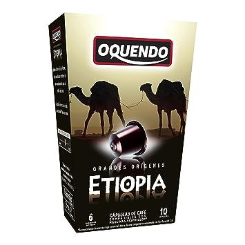 80 Cafés Oquendo Nespresso Compatible Coffee Capsules – (ETIOPIA) Single Origin Premium Quality Nespresso