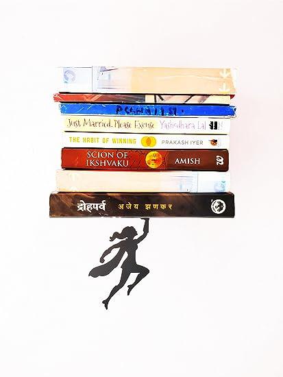 HeavenlyKraft Wonder Woman Metal BookshelfBlack