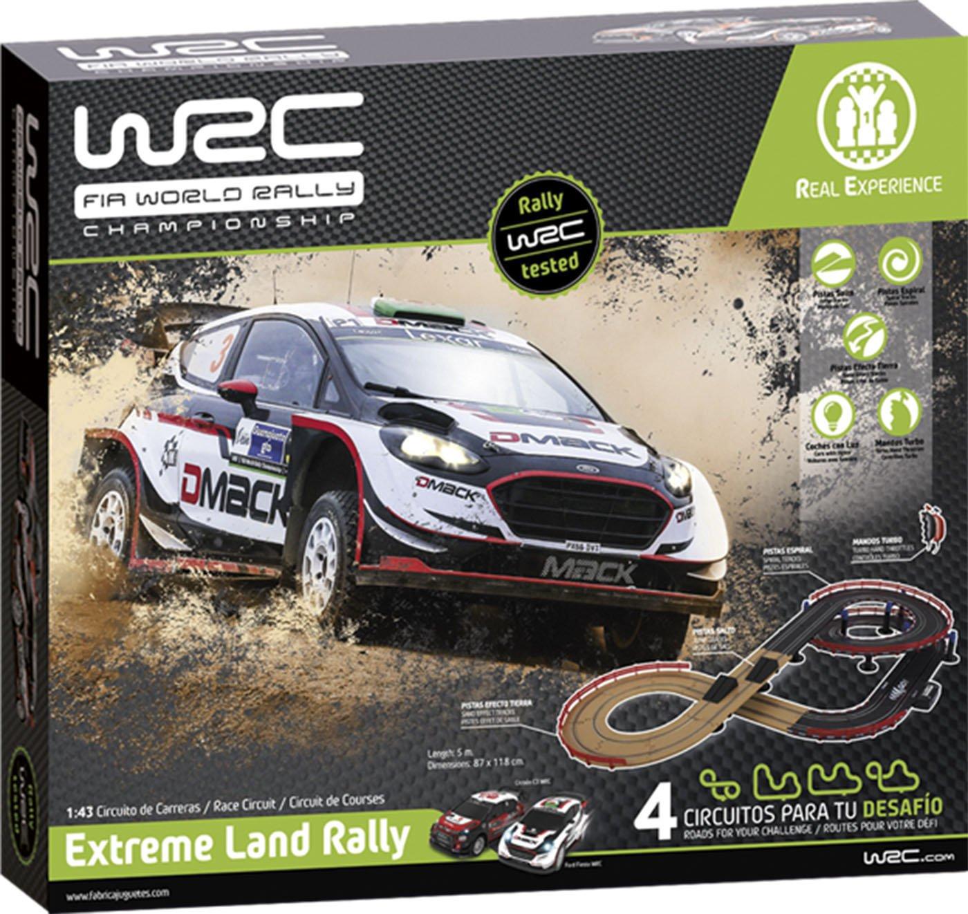 WRC Extreme Land Rally Fábrica De Juguetes