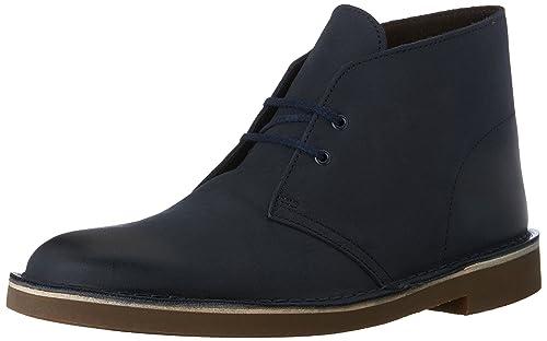 adf000e8 Bota del desierto Bushacre 2 para hombre de Clarks, cuero azul marino, 10 M  US: Amazon.es: Zapatos y complementos
