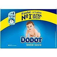 Dodot Bebé-Seco Pañales Talla 4, 144 Pañales,