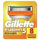 Gillette Fusion5 Power Razor Blades, 8 Refills, Mailbox Sized Pack