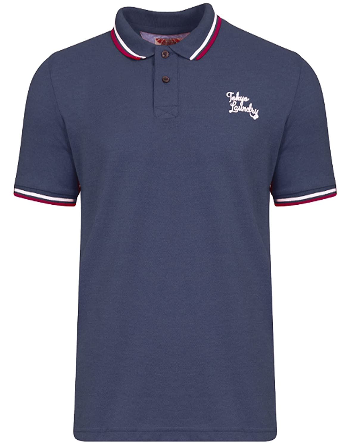 Mens Pique Polo Shirt T-Shirt Goodwin Point Tokyo Laundry Sommer 1X8376:  Amazon.de: Bekleidung