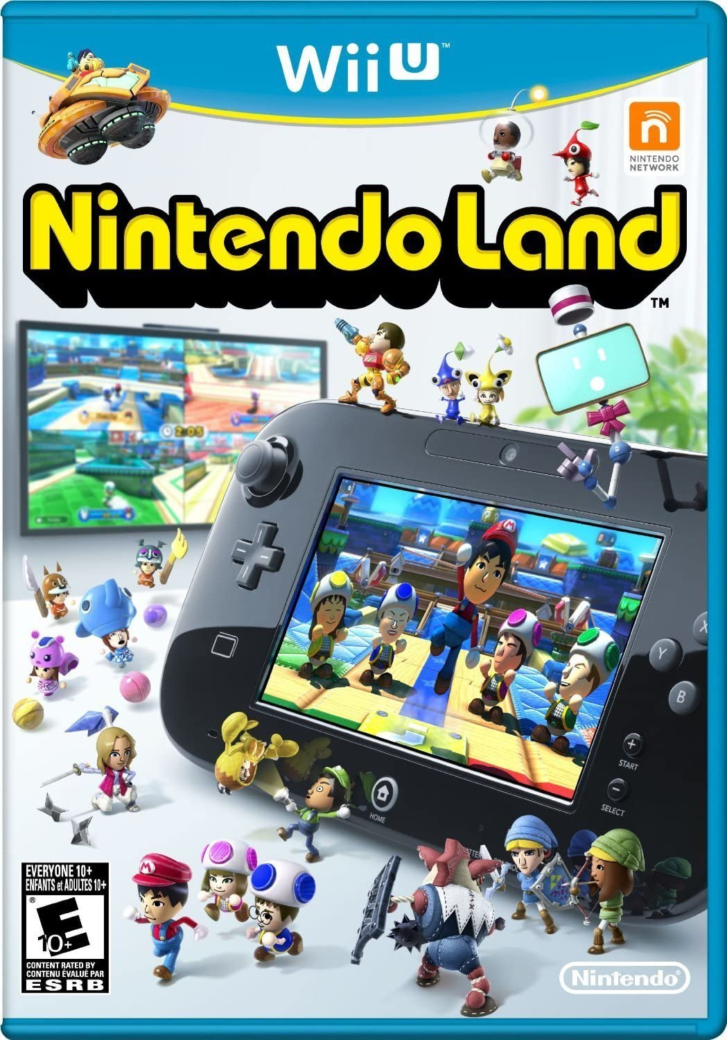 Amazon com: Nintendo Land: Nintendo of America: Video Games
