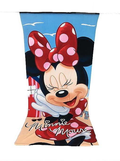 Minnie Toalla de playa, toalla de playa microfibra – 70 x 140 cm Mouse –