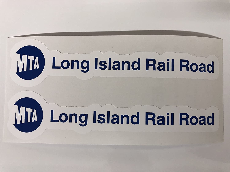 2 MTA Long Island Railroad Decals