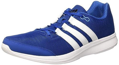 online retailer 9cfe6 e87ba adidas Men s Lite Runner M Running Shoes, Multicolore (Azul Negro (Supazu