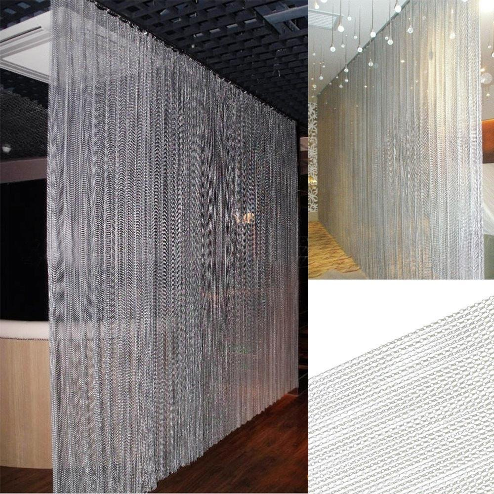 Amazon Topeakmart 83 X 35 Inch Metal Chain Curtain Fly Pest