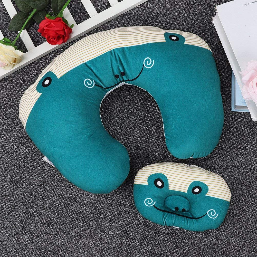 Comfortable Polyester Fiber Machine Washable Baby Breastfeeding Pillow Sitting Pillow Bear