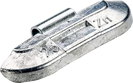 Pesi di equilibratura Pesi di equilibrio 100x Pesi equilibratura per ruote in acciaio Tipo 84U 25g Contrappesi