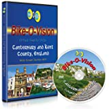 Bike-O-Vision Cycling Journey- Canterbury & Kent County, England (DVD #33)