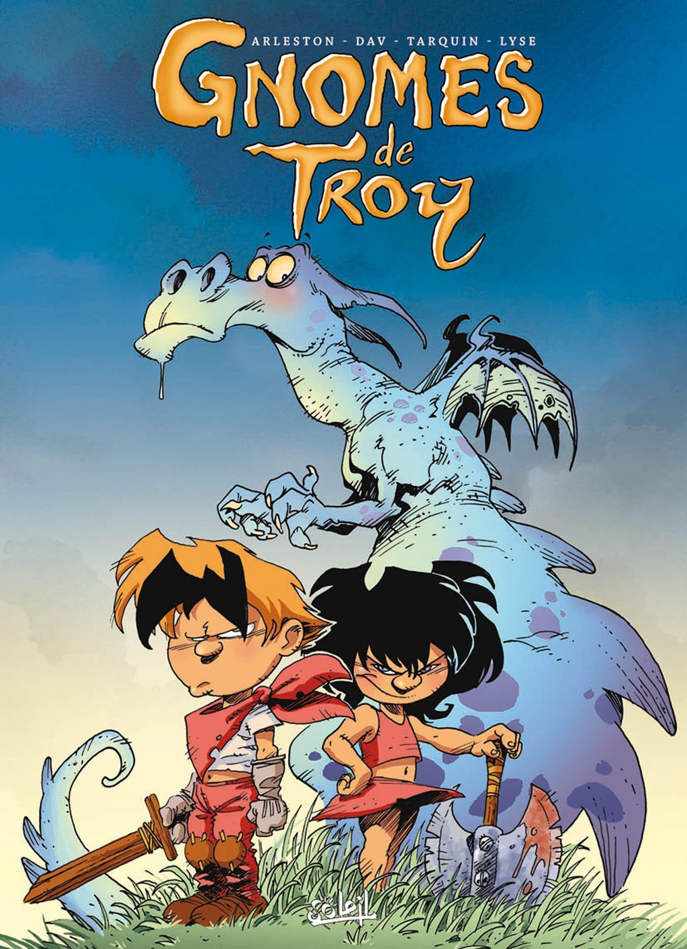 Gnomes de Troy Tomes 1 à 4