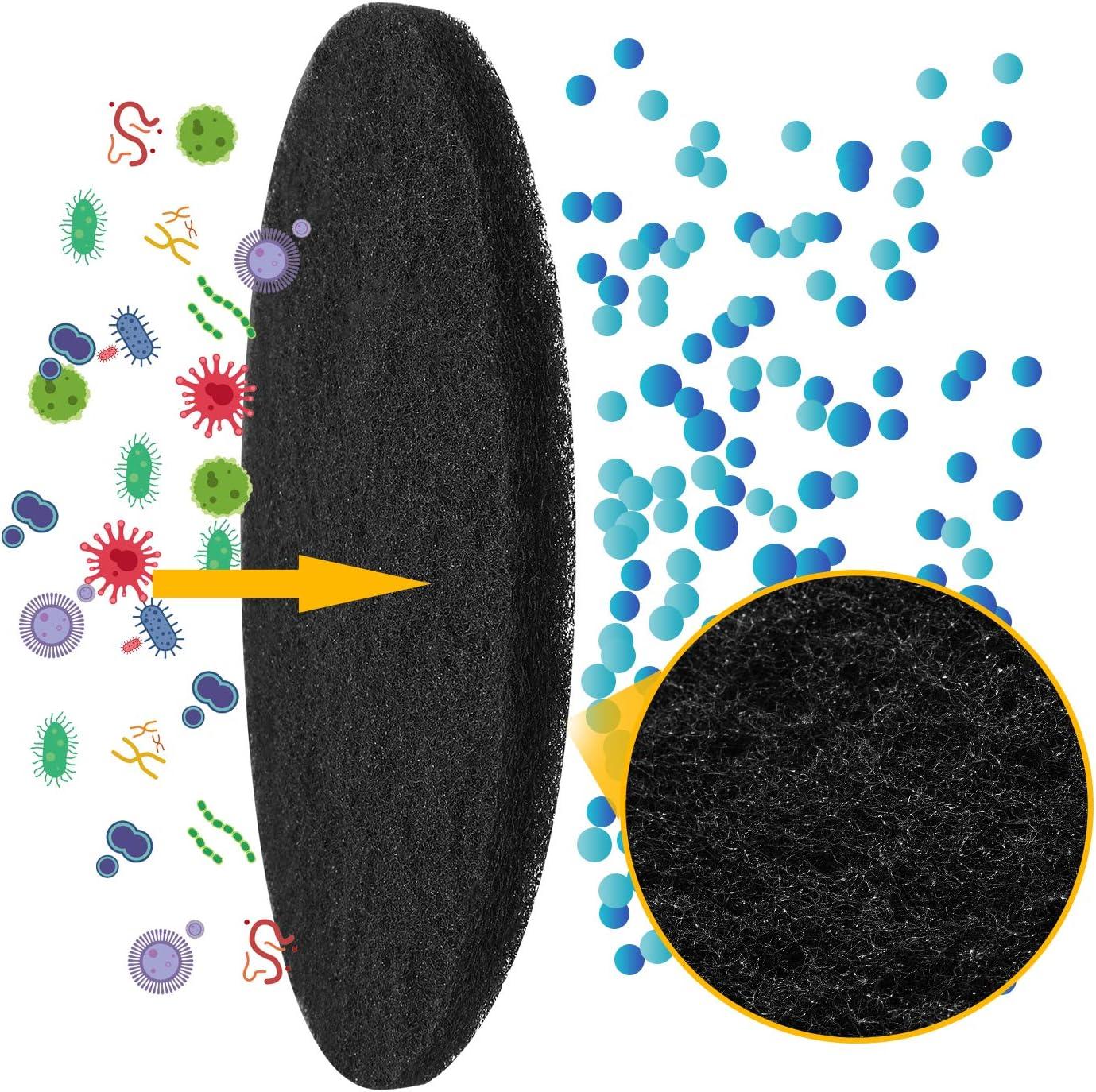 Filtros de Carb/óN para Cocina Compost Bin Onesight Filters Reemplazo de Cubo de Compostaje Filtro de Carb/ón de Repuesto