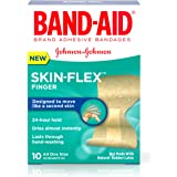 Band-Aid Brand Skin-Flex Adhesive Bandages, Finger, 10 Count