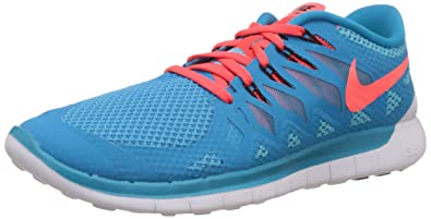 0128302d7cb77 Nike Herren Free 5.0 Laufschuhe Blau (Blue Lagoon Brght Crmsn-Clearwater  406)