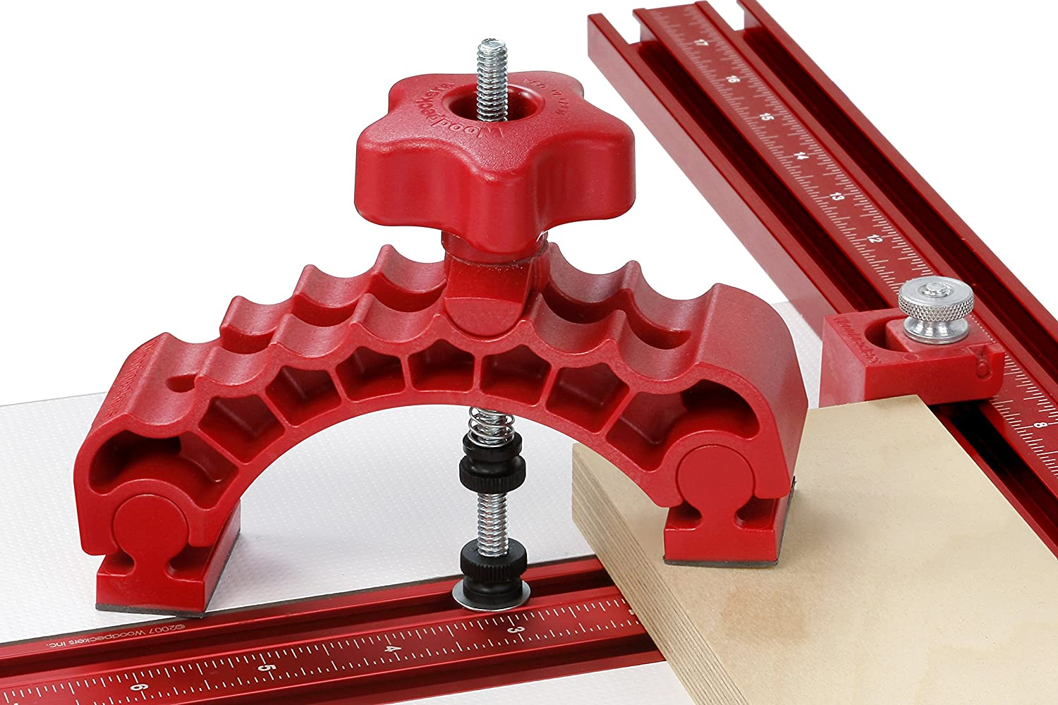 Woodpeckers WPDPPACK2 Drill Press Table with 2 Knuckle Clamps