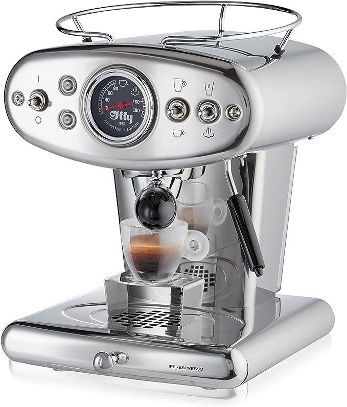 color rojo 1250/W Illy Metodo X1/Anniversary Espresso y Coffee C/ápsula el/éctrica