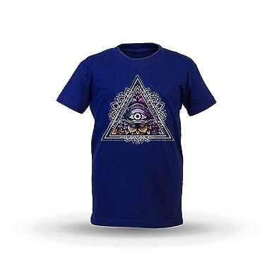 KrisTalas niños Camiseta de Las niñas Third Eye T-Shirt Yoga ...
