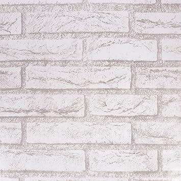 Waahome Papier Peint, Brique Papier Peint Pour Maison De Cuisine Chambre à  Coucher De Salle