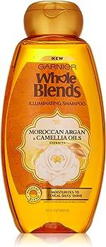 Garnier 22 fl. oz. Whole Blends Shampoo with Moroccan Argan & Camellia Oils