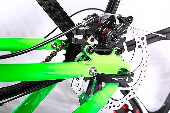 Amazon.com : Land Rover Rockefeller Folding Mountain Bike (black) : Sports & Outdoors