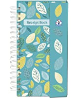 Organized Mom Receipt Book organizer. An attractive receipt storage book with 13 card pockets to file receipts month by month plus an extra pocket for Christmas. Ideal to help with personal finances.