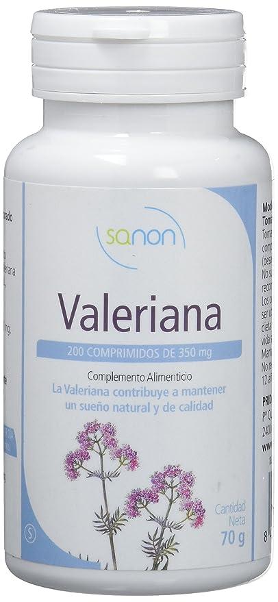 Sanon Valeriana, Complemento Alimenticio, 200 Comprimidos, 350 mg