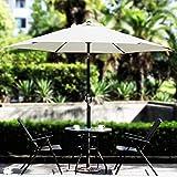 Blissun 7.5 ft Patio Umbrella, Yard Umbrella with