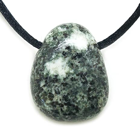product gemstone necklace pendant bluestone
