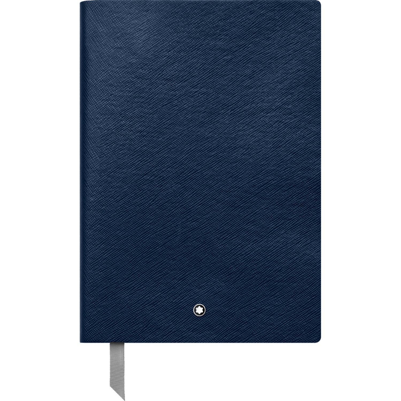 Montblanc 113593 Cuaderno Fine Stationery #146 – Bloc de líneas A5, índigo