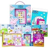 Peppa Pig Me Reader Electronic Reader 8 Book Bundle ~ Peppa Pig Books for Toddlers, Kids | Peppa Pig Me Reader Books…
