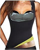 Gotoly Women's Hot Sweat Slimming Neoprene Plus Size Vest Body Shapers For Fat Burner