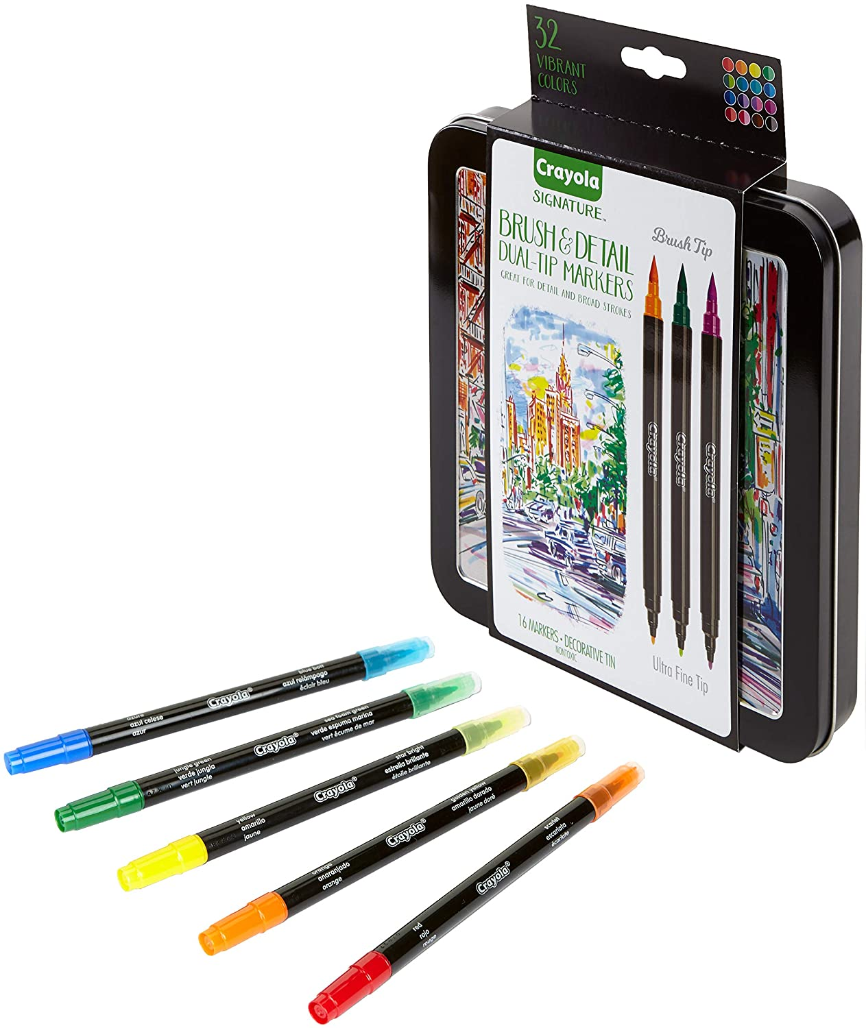Crayola Brush Markers ONLY $6.