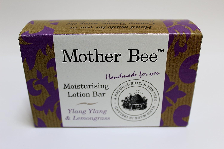 Mother Bee Ylang Ylang & Lemongrass Moisturising Lotion Bar 95g 100% Natural, barrier cream