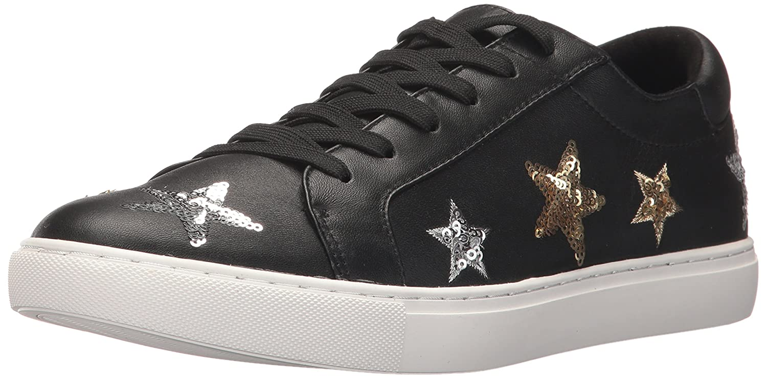 Kenneth Cole New York Women's Kam 11 Star Patches Fashion Sneaker B0716JC42Z 10 B(M) US|Black