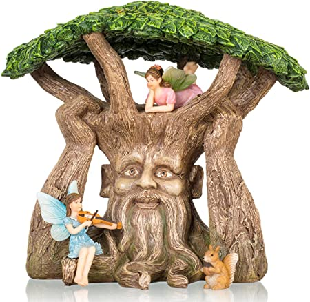 Amazon.com: joykick jardín de hadas antigua – Kit de árbol ...