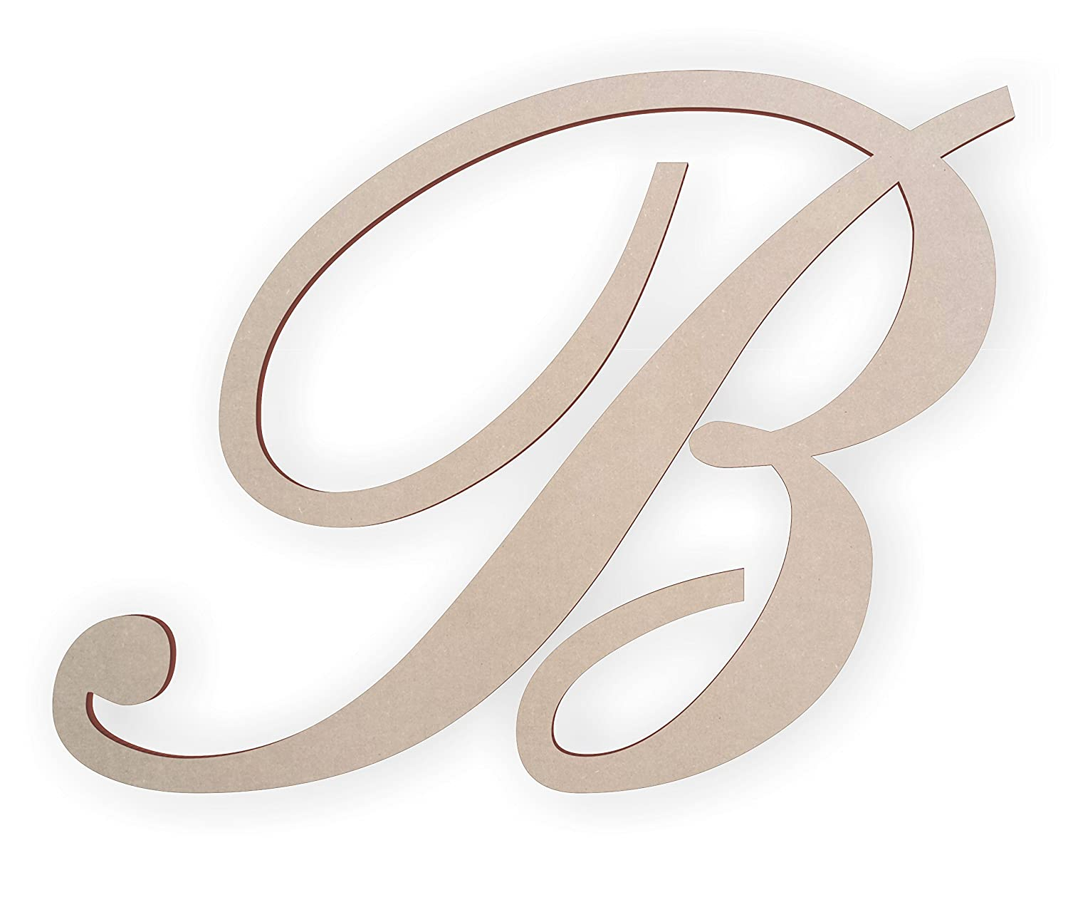 Amazon com: Wooden Letter B for Wall, Wooden Letters for