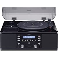 Deals on Teac Turntable w/USB CD Recorder Cassette Deck & AM/FM Tuner