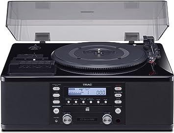 Amazon.com: Teac LP-R660USB-PB Lp-Cassette to CD Recorder ...