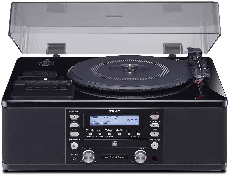 TEAC LPR660USBPB tocadisco - Tocadiscos: Amazon.es: Electrónica