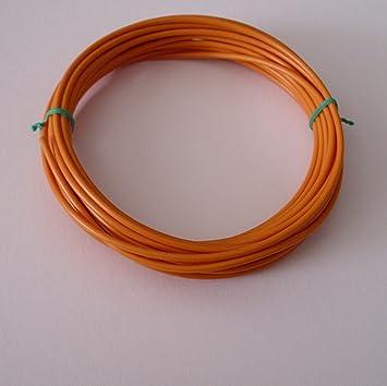 10m 2,5mm² Kfz Kabel Litze Flry Orange: Amazon.de: Elektronik